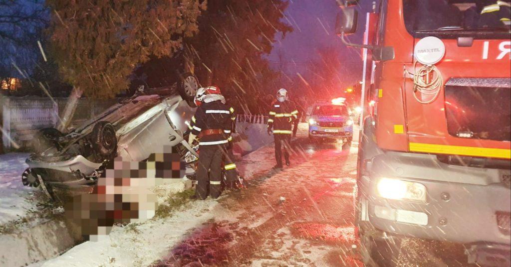 Accident rutier în Orbeasca. O persoană și-a pierdut viața [Galerie